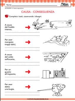 Sviluppare la lettura e la scrittura schede didattiche per la scuola - Esercizi di letto scrittura ...